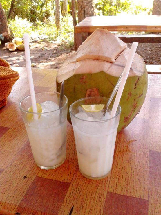 Agua de coco refresco
