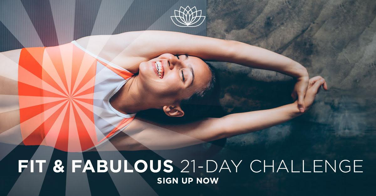 Yoga Download Fit and Fab Challenge