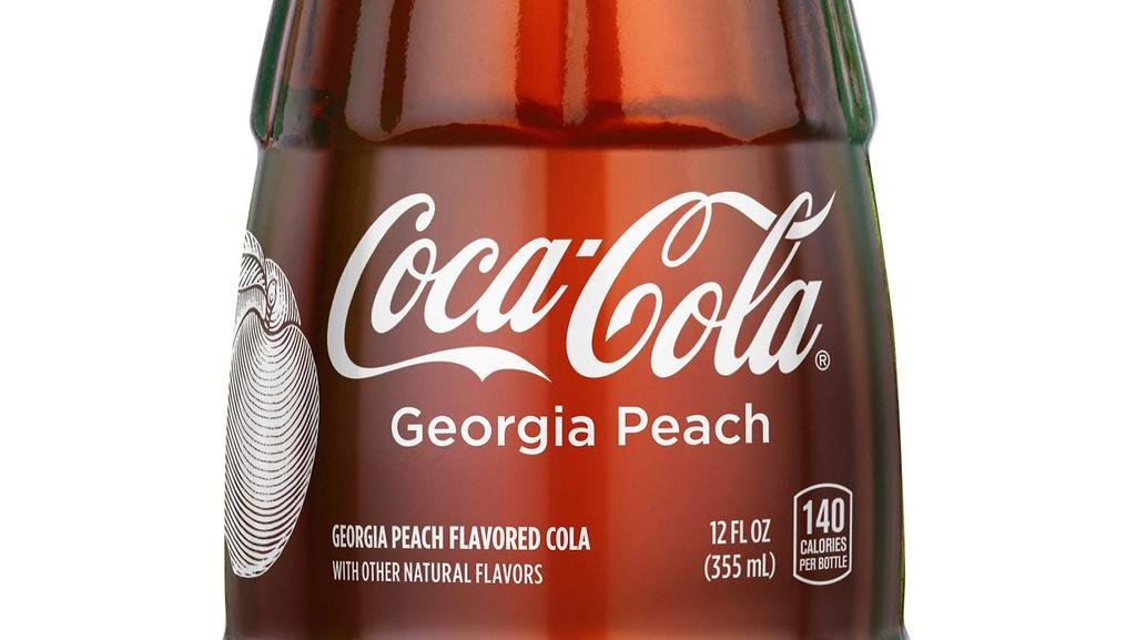 coca-cola-new georgia-peach-12oz-bottle