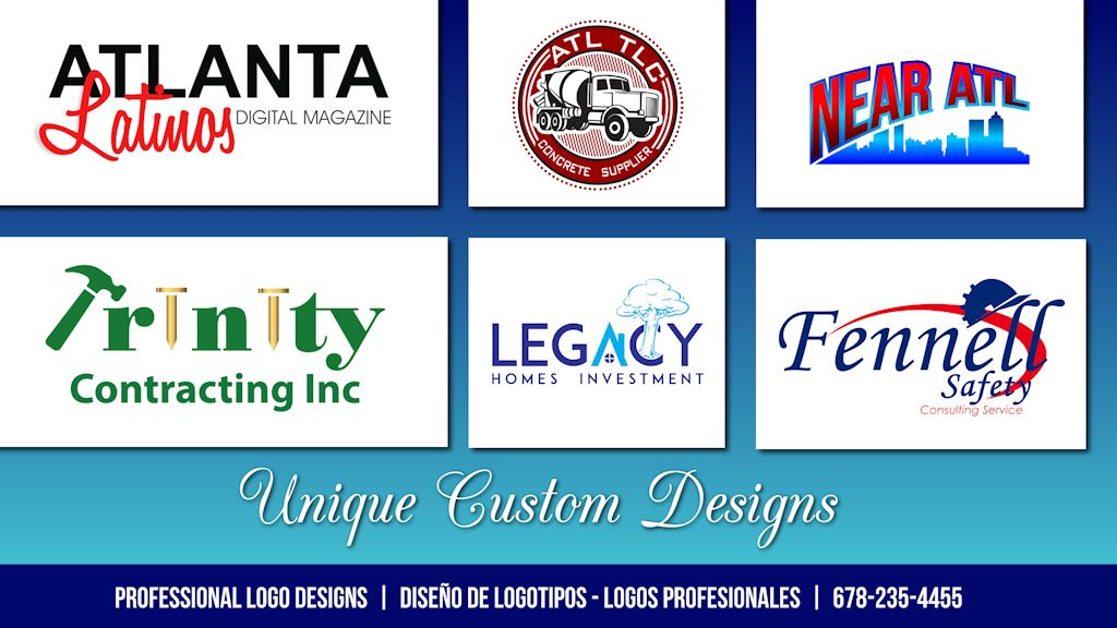 Comprar Logotipo | Unique Custom Logo Design Service #atlantalatinos