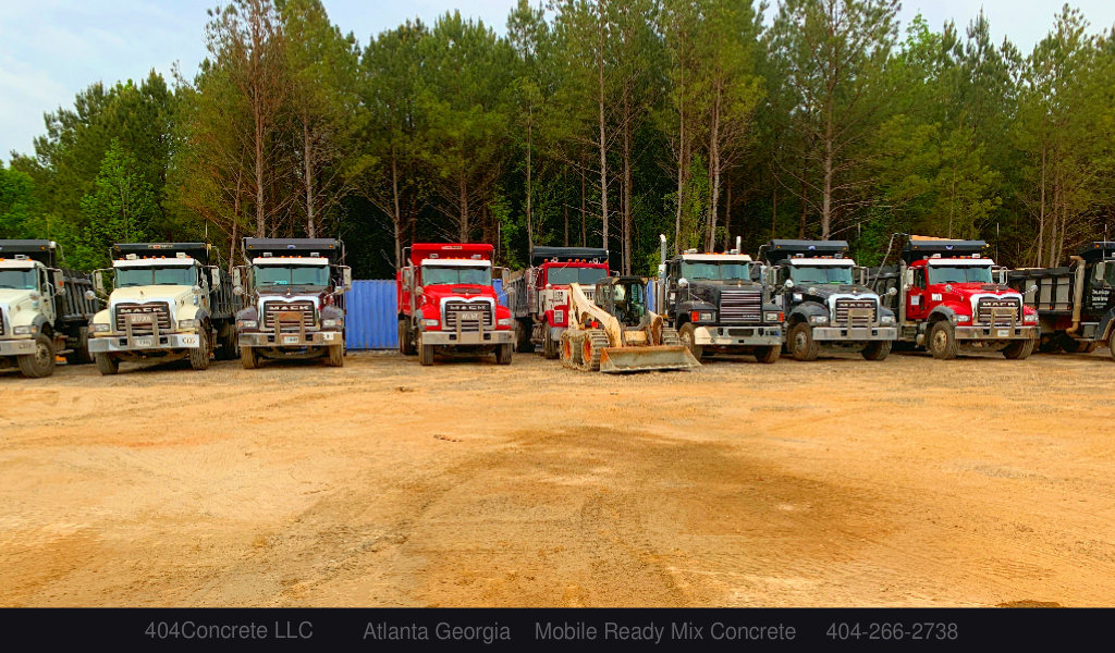 Atlanta Dump Truck Hauling Concrete 404 266 2738 Ready Mix Concrete Atlanta