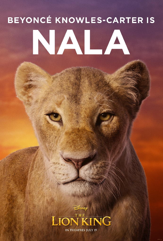 Disney Lion King 2019 Nala Beyonce Knowles-Carter