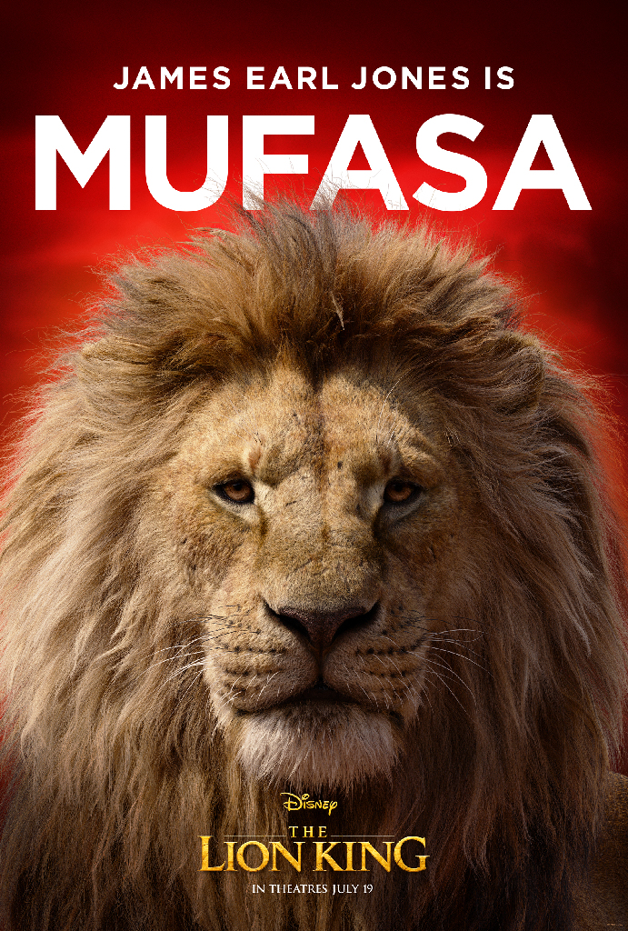 Disney Lion King 2019 Mufasa James Earl Jones