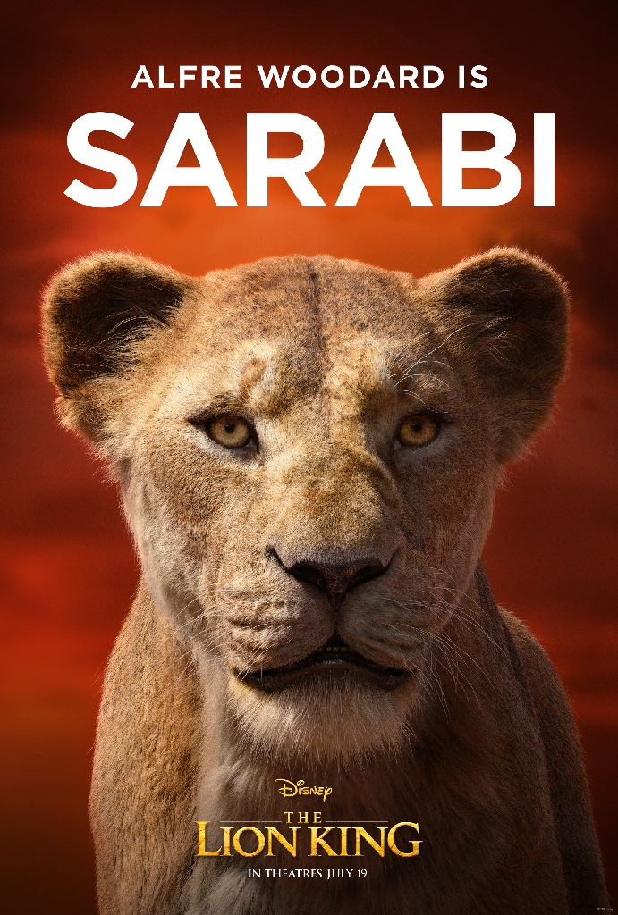 Disney Lion King 2019 Sarabi Alfre Woodard