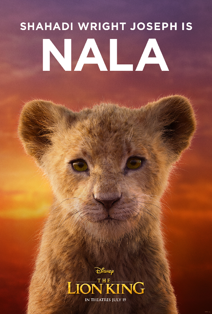 Disney Lion King 2019 Nala Shahahi Wright Joseph
