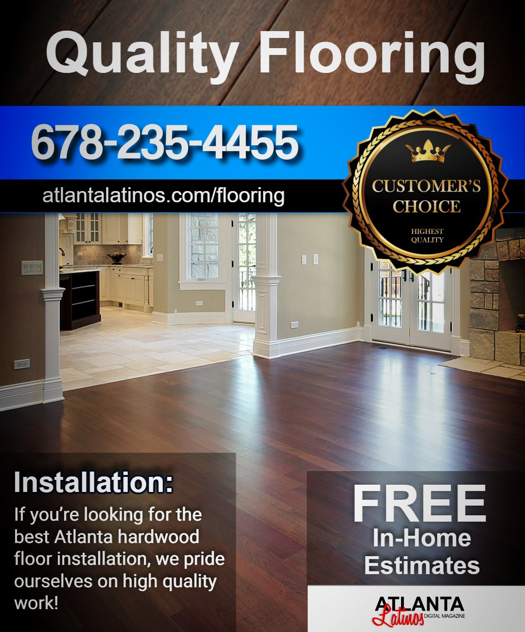 Atlanta Wood Flooring Installation