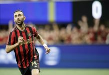 Atlanta United Vs New York Red Bulls Justin Meram