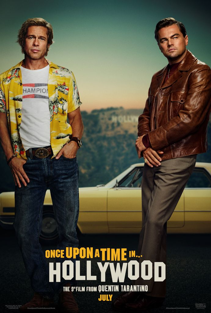 Brad Pitt And Leonardo Dicaprio Once Upon A Time In Hollywood