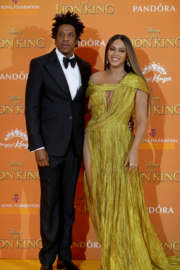 Disney Lion King London Premiere 2019 European Premiere Beyonce Jayz