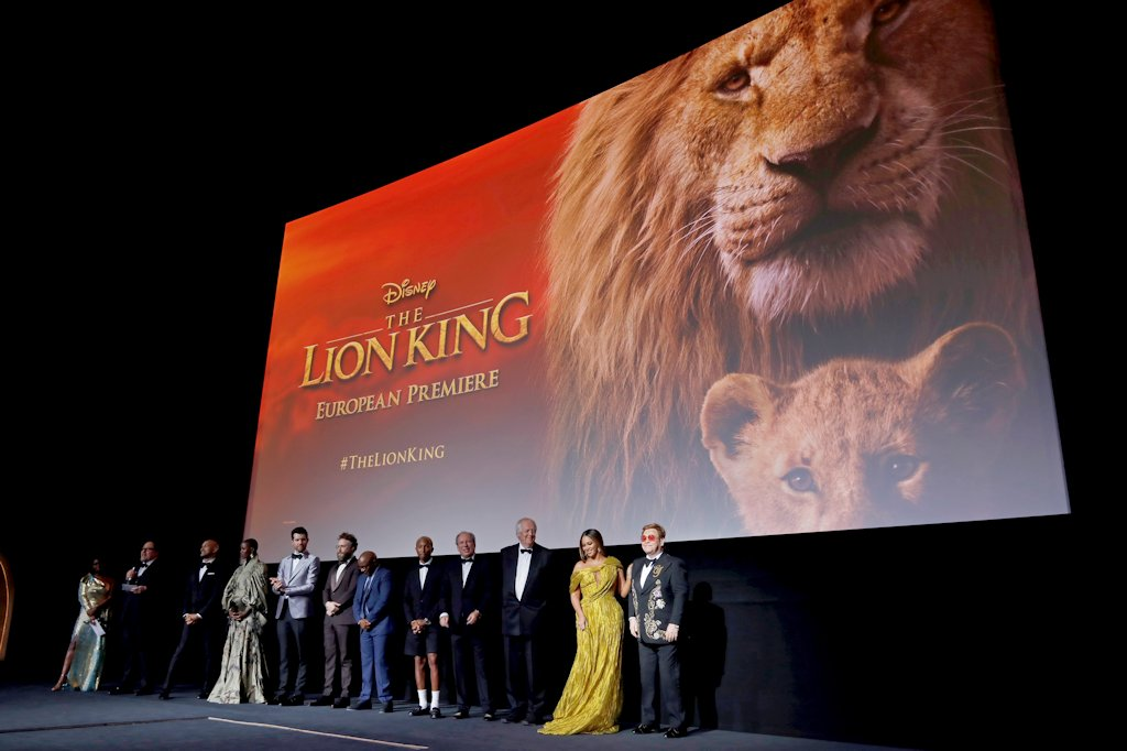 Disney Lion King London Premiere Celebrities 3