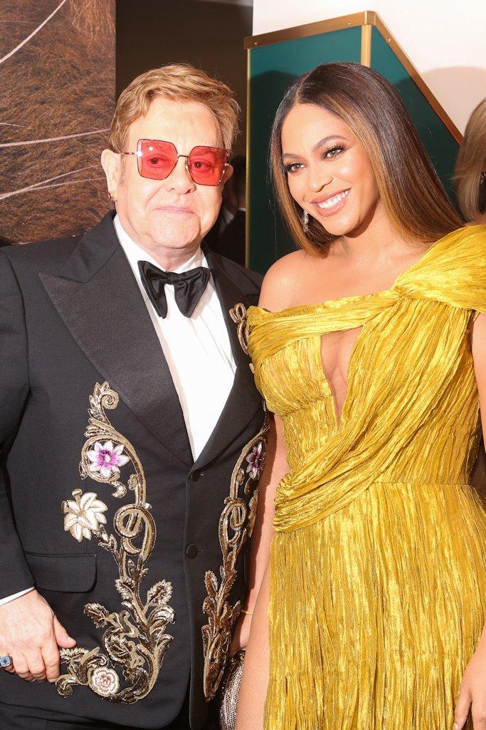 Lion King European Premiere Beyonce Elton John 4