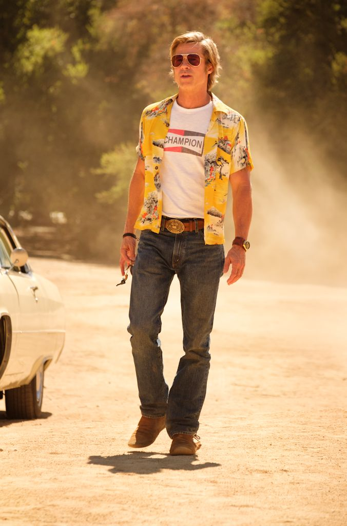 Brad Pitt In Columbia Pictures Òonce Upon A Time In Hollywood""
