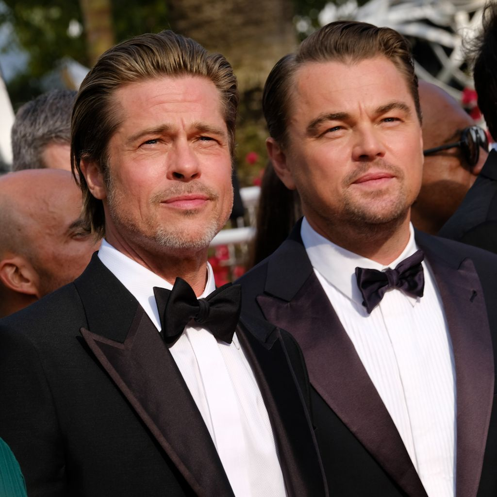 Once Upon A Time In Hollywood Cannes Brad Pitt Leonardo Dicaprio Red Carpet