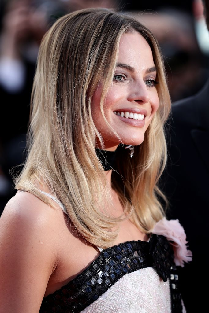 Once Upon A Time In Hollywood Cannes Margot Robbie Red Carpet