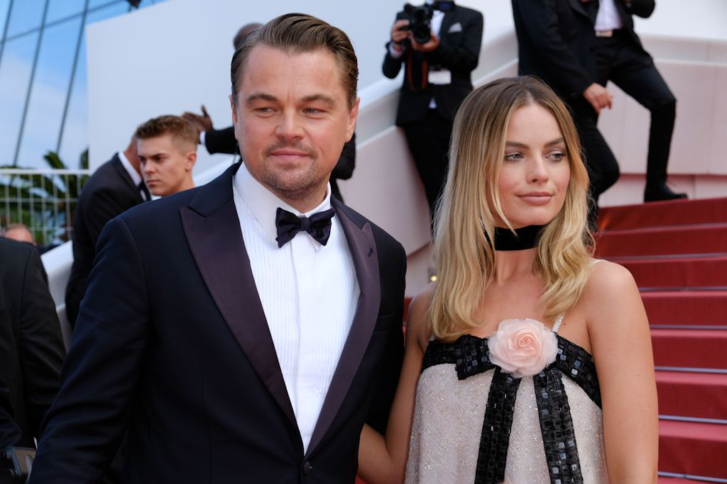 Once Upon A Time In Hollywood Leonardo Di Caprio Margot Robbie
