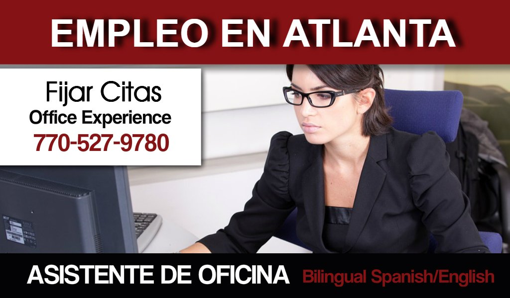Atlanta Bilingual Jobs Office Assistant For Home Remodeling