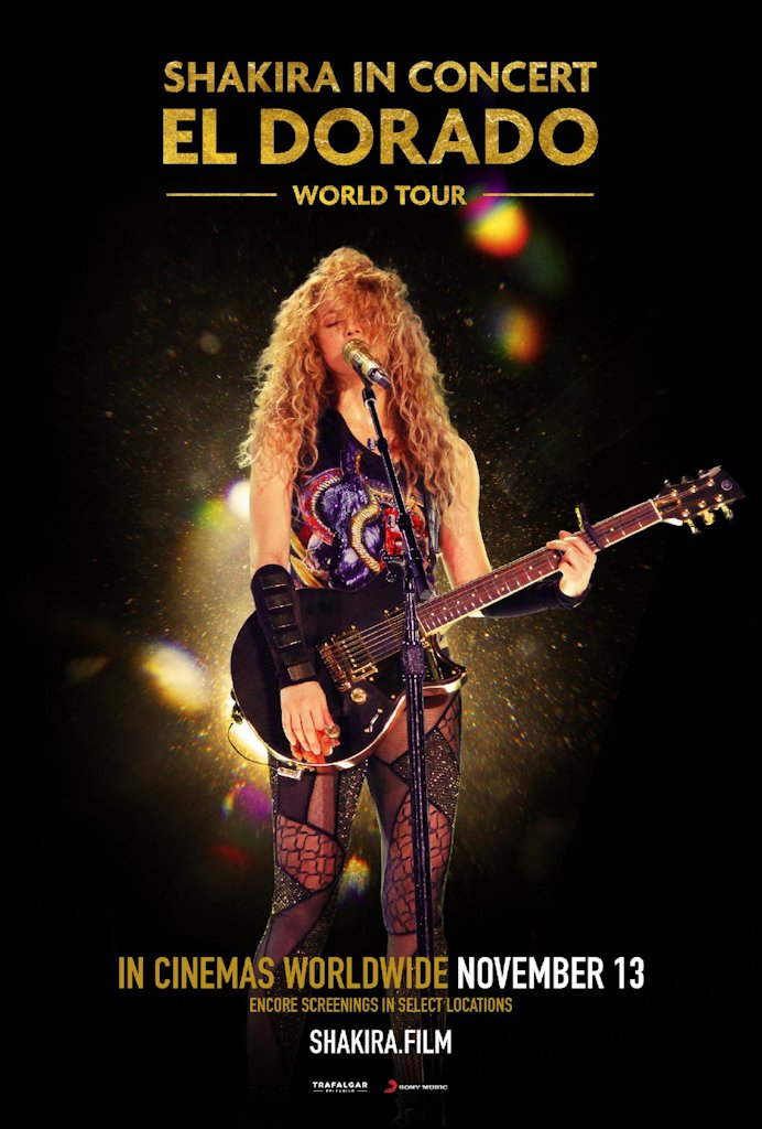 Shakira El Dorado Concert Film. Atlanta Latinos Magazine #shakiraconcert