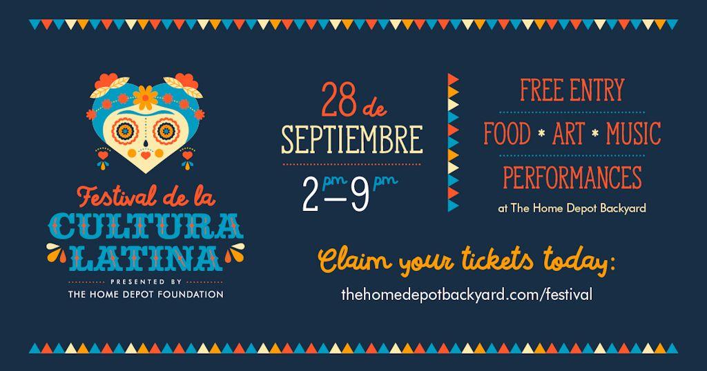 Atlanta Festival Cultura Latina Homedepot Backyard Mercedes Benz Stadium