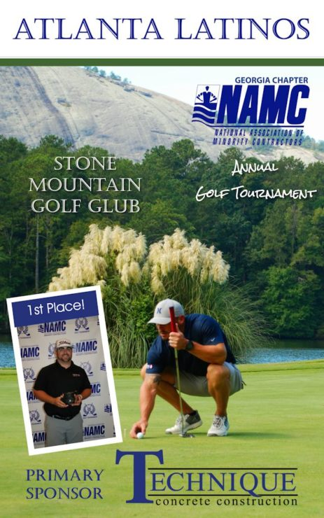 Namc Golf Tournament Stone Mountain Atlanta Latinos Magazine