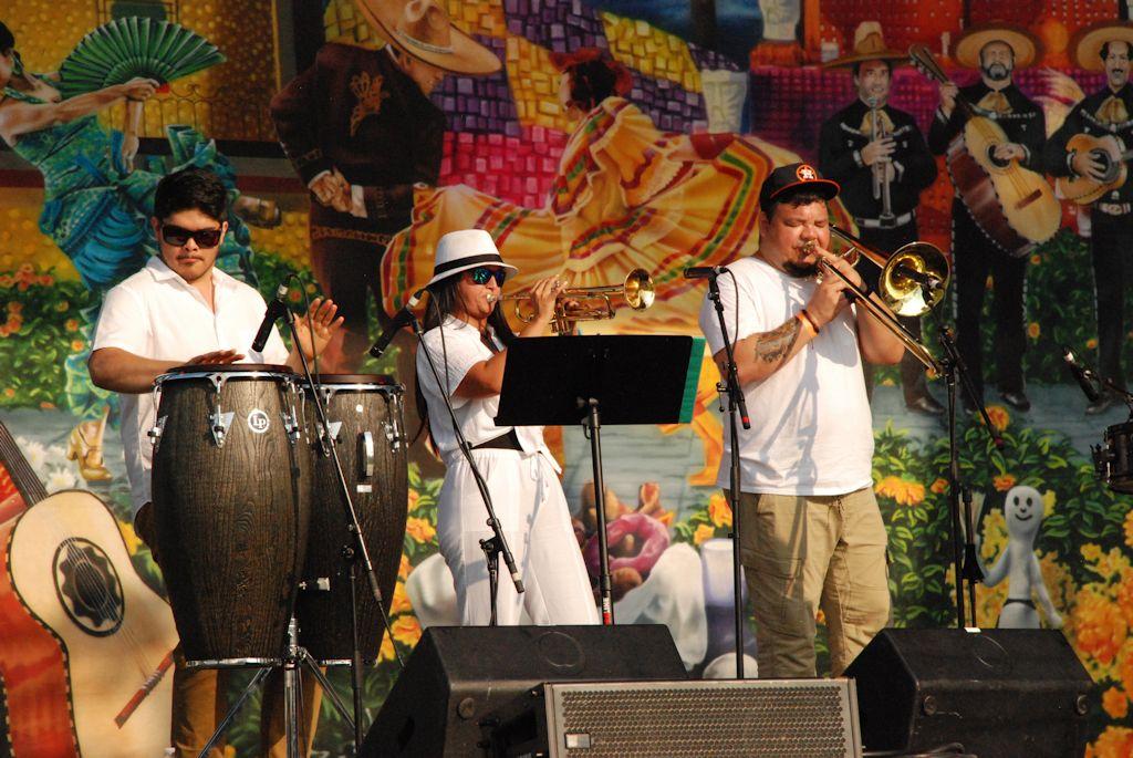 Atlanta Latin Culture Festival Home Depot Backyard Mercedes Benz Stadium