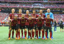 Atlanta United Vs New England Mercedes Benz Stadium Atlanta Latinos Magazine Atlanta Deportes