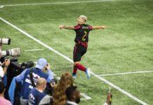 Atlanta United Vs New England Playoffs Round 1 Escobar