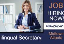 Atlanta Se Busca Secretaria Bilingue Hiring Secretary
