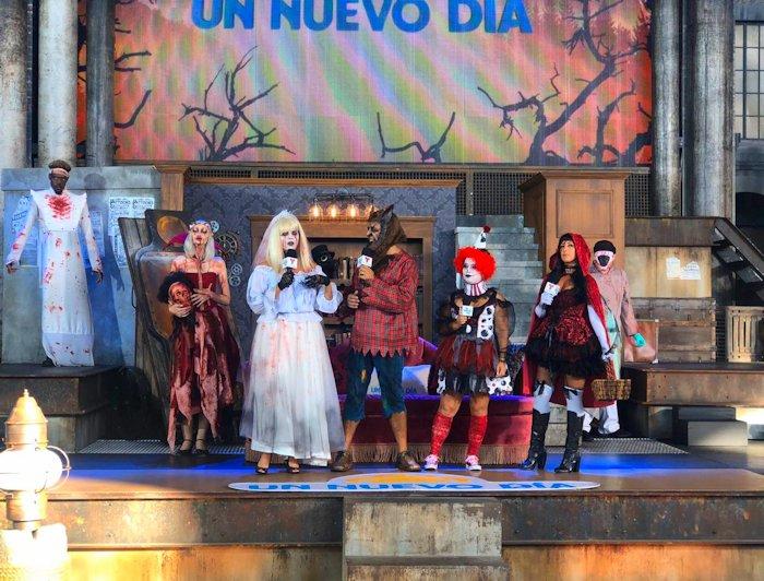 Un Nuevo Dia Telemundo Happy Halloween #atlantalatinos