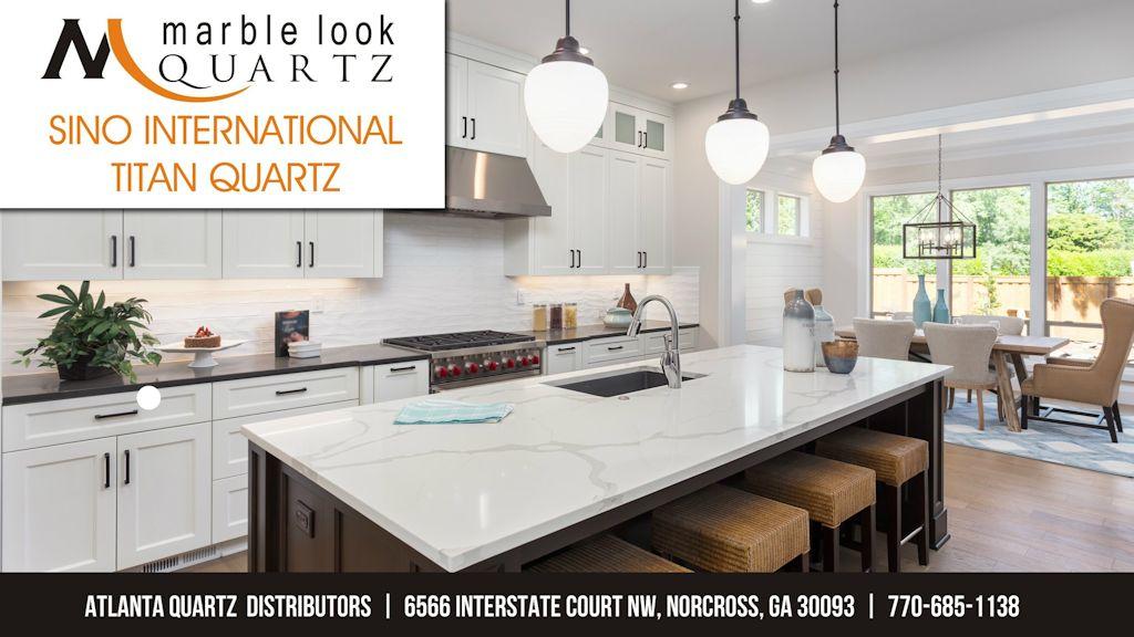Atlanta-Quartz-Distributors-Marble-look-SINO-International-Titan-Quartz-norcross-showroom